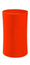 Silikonowa osłona do butelek pura kiki - pomarańczowa