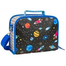 Lunchbox ekologiczny petit collage - kosmos  3+