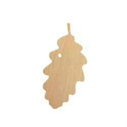 Drewniana zawieszka - liść