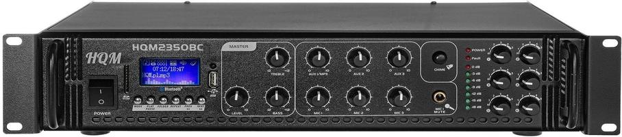 Wzmacniacz hqm2350bc radio fmmp3bluetooth 350w - szybka dostawa lub możliwość odbioru w 39 miastach