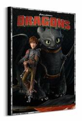 Dragons Portrait - Obraz na płótnie