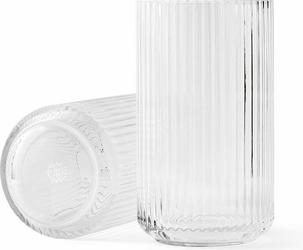 Wazon lyngby szklany clear 38 cm