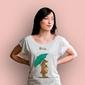 Misiu t-shirt damski biały xxl