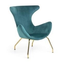 Fotel dawan 77x75 cm zielony
