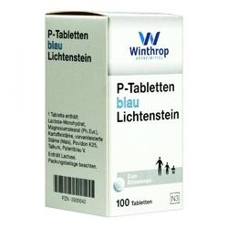 P tabletten blau 8 mm teilk.