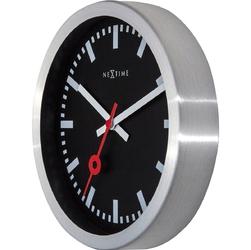 Zegar stojący station czarny cyferblat nextime 3998 stzw