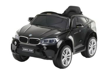 Samochód na akumulator bmw x6m czarny lakier metalik + pilot