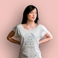 Kochana babuleńka t-shirt damski biały xl