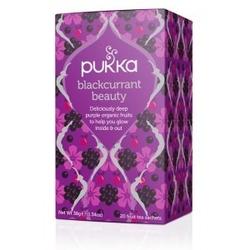 Herbata porzeczka róża hibiskus koper blackcurrant beauty 20 torebek pukka