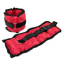 Obciążniki ob02 2 x 0,7 kg czerwone - hms - 2 x 0,7 kg