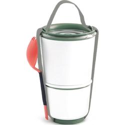 Pojemnik obiadowy lunch pot black blum biało-oliwkowy bp010