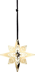 Dekoracja choinkowa karen blixen star złota