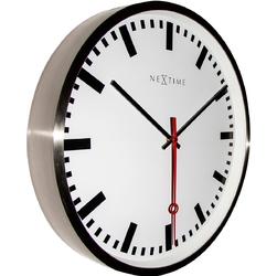 Zegar ścienny super station stripe nextime 55 cm 3127 st