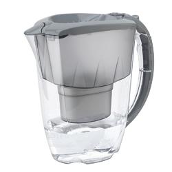 Dzbanek filtrujący wodę z wkładem aquaphor amethyst b100-25 maxfor szary 2,8 l