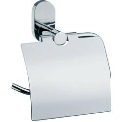 Uchwyt stalowy z klapką na papier toaletowy lucido kela ke-22677
