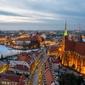 Wrocław, polska -plakat premium wymiar do wyboru: 40x30 cm