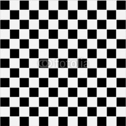 Obraz na płótnie canvas czteroczęściowy tetraptyk Bezszwowych czarno-białych kratkę tekstury