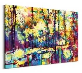 Woods near worcester lodge - obraz na płótnie