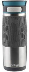 Kubek termiczny contigo transit metra 470ml - srebrny - srebrny