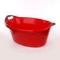 Miska  wanienka plastikowa artgos owalna czerwona 40 l