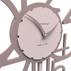 Zegar ścienny z wahadłem joseph calleadesign szara śliwka 11-002-34