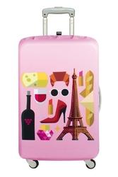 Pokrowiec na walizkę LOQI Hey Paris