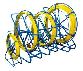 Włókno szklane do przeciągania kabli 6mm  50m pilot  stalka pe + stojak - szybka dostawa lub możliwość odbioru w 39 miastach
