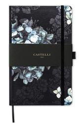 Notes castelli milano - midnight floral hydrangea