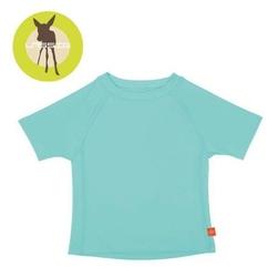 Koszulka z krótkim rękawem splashfun uv 50+ - aqua 36mc