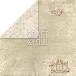 Papier do rękodzieła 30,5x30,5 wedding garden 01 - 02