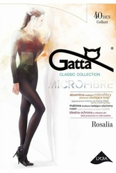 Gatta rosalia microfibre 40 den plus nero rajstopy