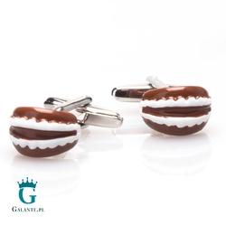 Spinki do mankietów x2 sztuczne szczęki dla dentysty i nie tylko