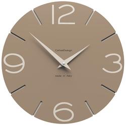 Zegar ścienny Smile CalleaDesign caffelatte 10-005-14