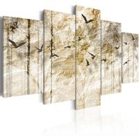 Obraz - papierowy las