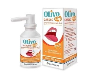 Olivocap gardło spray nawilżający z wit. a+e 20ml