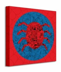 Marvel Spider Man Spider Collage - Obraz na płótnie
