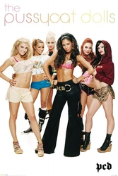 The pussycat dolls group - plakat