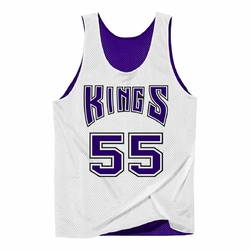 Koszulka Mitchell  Ness NBA Reversible Mesh Tank Sacramento Kings Jason Williams - NNRMDA18007-SKIPRWH1JWI98 - Jason Williams