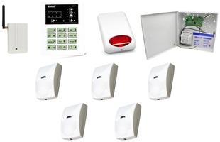 Zestaw alarmowy satel ca-6 led, gsm, 5 czujek, sygnalizator zewnętrzny - możliwość montażu - zadzwoń: 34 333 57 04 - 37 sklepów w całej polsce
