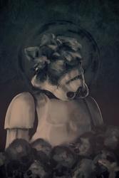 Gwiezdne wojny star wars skull trooper - plakat premium wymiar do wyboru: 29,7x42 cm