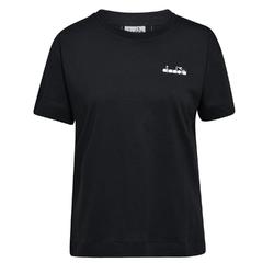 Koszulka damska diadora l.ss t-shirt logo - czarny