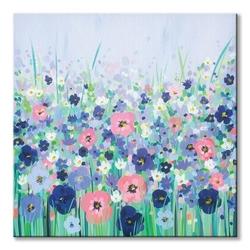 Floral meadow - obraz na płótnie