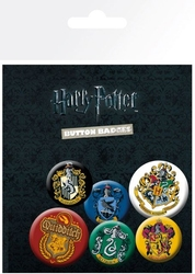 Harry potter crests - przypinki