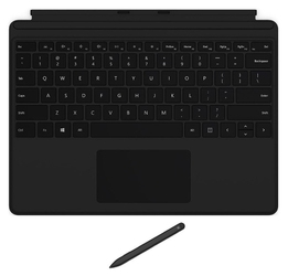 Microsoft surface pro x signature keyboard with slim pen bundle commercial black qjv-00007