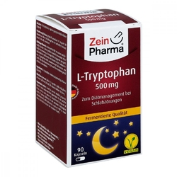 L-tryptophan 500 mg w kapsułkach