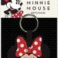 Minnie mouse face - tkany brelok