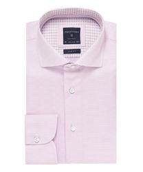 Elegancka różowa koszula męska profuomo originale 43