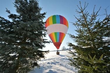 Lot balonem - katowice