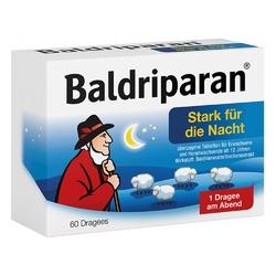 Baldriparan stark tabletki powlekane na noc