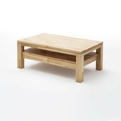Ramzey bukowy stolik kawowy z dwoma szufladami